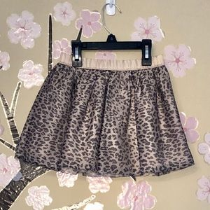 Gymboree Animal Print Skirt